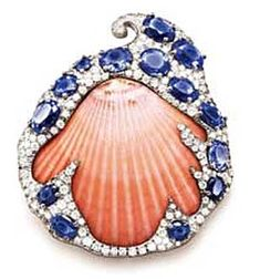 On the 12th floor of a dull gray office building on Fifth Avenue is Verdura—part showroom, part shop, and part archive. Call it the candy store. Even with the elegant rooms and the ever-so-polite glass cases, there's something intoxicating about Verdura's jewels, something luscious, sensuous, yummy: The vintage bubble-gum-pink topaz bow brooch mounted in gold with diamond ribbons, the fat heart fashioned of cabochon emeralds the color of glazed fruit and wrapped up with strings of diamonds.