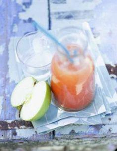 Jus de pomme, carotte et fenouil/ Apple juice, carrot, and fennel