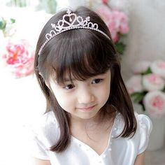 1 PC Vogue Baby Girls Toddler Newborn Princess Bridal Crown Crystal Diamond Tiara Hoop Headband Hair Band Accessories-in Hair Accessories from Mother & Kids on Aliexpress.com   Alibaba Group