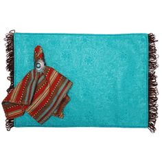 Turquoise Croc Leather Table Runner   12 X 54 | Rooms | Pinterest | Runners,  Table Runners And Turquoise