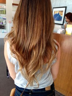 Light brown hair/ ombré