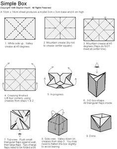 Amylela writing...: ORIGAMI-boxes