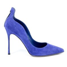 Sergio Rossi Womens Cutout Suede Pumps Blink