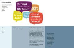 Webdesign Grafikdetails im Contentbereich von dasacoaching.de