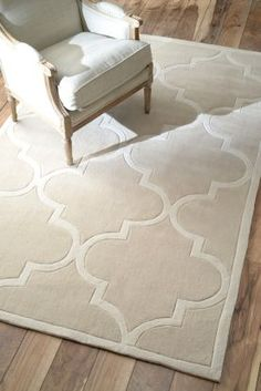 $5 Off when you share! Keno Trellis Neutral Rug | Contemporary Rugs #RugsUSA