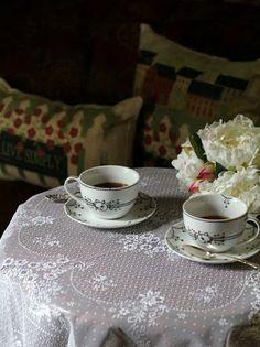 Heritage Lace Tea: The Charm of Home Tea Etiquette, Purple Petunias, Entertaining Angels, Buy Tea, Cream Tea, Cuppa Tea, Easter Cupcakes, My Cup Of Tea, Coffee Break