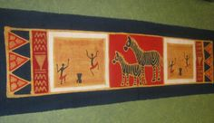 Zimbabwe Batik Table Runner
