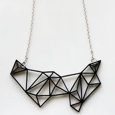 Awesomely Angular: 20 Geometric Jewelry Pieces via Brit + Co.