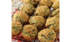 Feta and spinach muffins - Kidspot