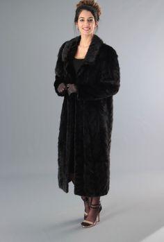 Black mink coat ebay
