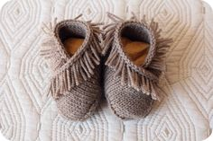 Cosy shoes for them to explore the house in, and curl up with when they read and play :)
