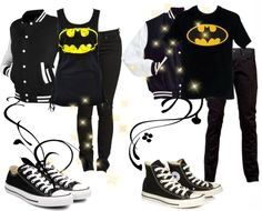 Matching batman outfits for couples