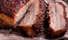 Wondering what to serve with pork belly? Here are 13 savory sides that will turn your pork belly into an unforgettable feast. Pork Belly Recipe Oven, Pork Belly Recipes, Roast Pork Belly Slices, Pork Loin, Pork Roast With Gravy, Meat Diet, Crispy Pork, Greek Recipes, Cooking Recipes