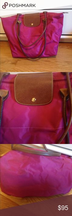 Longchamp Large Tote Used a couple of times but in great condition! Large size Longchamp Bags Totes