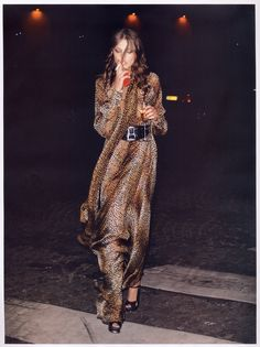 Noctambule - Vogue Paris, May 2007 Photography by Terry Richardson