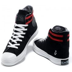 05377af3fec Converse Shoes Black New Style-Sailor Limited Edition Chuck Taylor Canvas  Sneakers Hi Tops