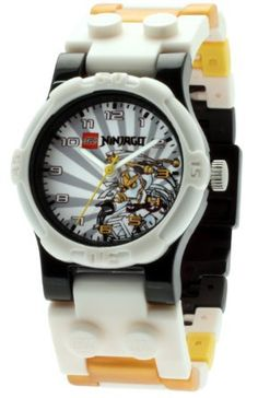 LEGO Ninjago Zane watch with minifgure Trendy Collection, Santas Workshop, Star Wars Party, Lego Ninjago, Cool Watches, Black And Grey, Toys, Accessories, Target