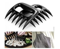 Meat Claws - Shayan Meat Claws - Meat Bear Claws - Meat Claws for Barbecue - Heat Resistant Meat Claws - Meat Handler Claws  http://www.amazon.com/Meat-Claws-Barbecue-Resistant-Shredding/dp/B00SSLL1DI/ref=sr_1_1?s=home-garden&ie=UTF8&qid=1425087608&sr=1-1&keywords=Meat+Claws+Shayan+Meat+Claws+Meat+Bear+Claws+Meat+Claws+for+Barbecue+Heat+Resistant+Meat+Claws+Meat+Handler+Claws+P