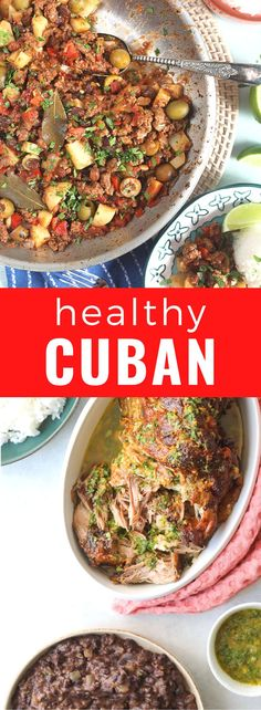 Traditional Cuban food is not only delicious but much of it is healthy too! Here are some easy Cuban recipes that are full in flavour like ropa vieja, picadillo, cuban flan, cuban rice, Cuban chicken fricassee, bistec encebollado,Bistec de palomilla, arroz con pollo, Cuban black bean and more #Cuba #Cubanfood Best Breakfast Recipes, Brunch Recipes, Summer Recipes, Cuban Recipes, Healthy Recipes, Delicious Recipes, Traditional Cuban Food, Chicken Vegetable Stew, Cuban Chicken