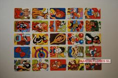Cromos troquelados ingleses y españoles sin troquelar. Más en www.martinfloressl.es