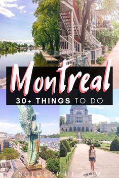 Ultimate Montreal Bucket List: Best Things to do in Montreal! Looking for the very best things to do in Montreal? Here's your ultimate bucket list and guide to the top attractions in Montreal, Quebec, Canada Montreal Travel, Montreal Quebec, Montreal Canada, Quebec City, Toronto Canada, Montreal Things To Do, Columbia, Ottawa, Canada Travel