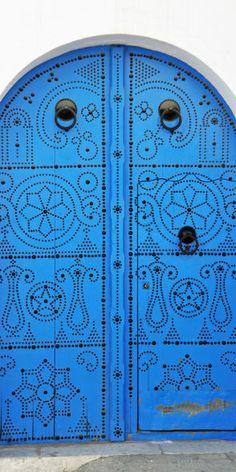 @Kathleen DeCosmo Likes-> Blue door with black detail