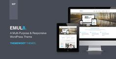 Emulate: Multi-Purpose Responsive WordPress Theme