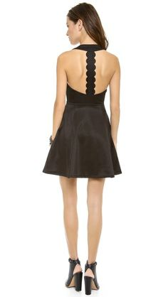 I am obsessing over the back of this dress $71!!!!