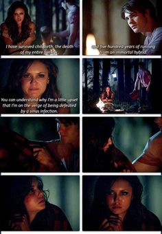 I adored this scene with Katherine and Jer! This proves to me why I love Jeremy, he is just so sweet and genuine even to those that have treated him badly. 5x02 #thevampirediaries