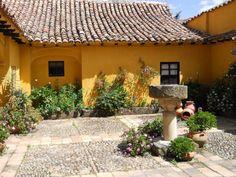 Arquitectura colonial. Boyacá Colombia