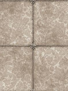 DecoratorsBest - Detail1 - CS 98/13055 - KINGS MIRROR-GILVER - Wallpaper - DecoratorsBest