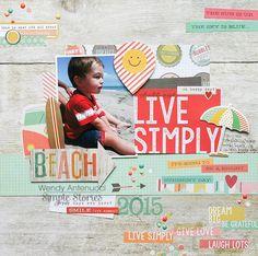 Live Simply **Simple Stories DT** - Scrapbook.com