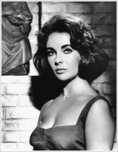 Elizabeth Taylor - I think that she had to be one of the most beautiful women who ever lived - and she had brains and wit as well.
