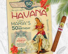 La Habana simple noches Digital cumpleaños por rosegoldbubbles