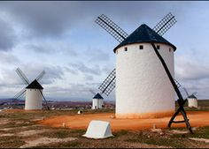 Albacete. Toledo Spain, Le Moulin, Wind Turbine, Places To Go, Around The Worlds, Windmills, Photography, Travel, Bucket