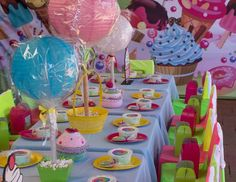 Sanaa's candy land party