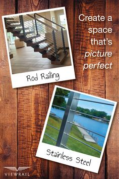 Viewrail Rod Railing is changing the game of modern railing design. Its non-porous surface, stainless steel strength, and non-corrosive durability make it the top railing choice, and our posts are designed to give you the sleekest and most modern railing system on the market. #design #interiordesign #DIY #renovation #Viewrail #ViewrailFLIGHT #FloatingStairs #FloatingStaircase #stairs #staircase #architecture #railing #rodrailing #modern #contemporary #deck #balcony #exterior #outdoor