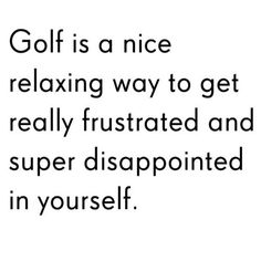 #Golftruth! | Rock Bottom Golf #RockBottomGolf