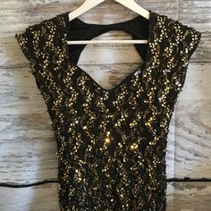 Vintage sequin dress in good vintage condition, fits a size 0-2-4 Vintage Dresses Mini