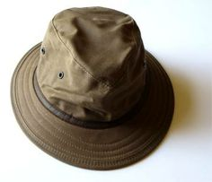 Cape Flattery Wax Cotton Hat by Watership Hats 42cf16b4b7d0