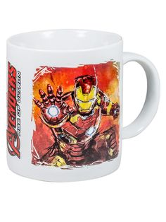 Avengers Age of Ultron Kaffeetasse Thor Iron Man Lizenzware weiss-bunt. Aus der Kategorie Fanartikel Film, Serie & Kult / Marvel Comics. Auch ein Superheld wie Iron Man aus dem Heldenteam der Avengers braucht mal eine kleine Verschnaufpause. Und die genießen auch Marvel-Helden durchaus gern einmal mit einer guten Tasse Kaffee oder Tee!
