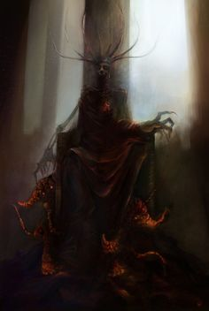 RedQueen by *DalisaAnja - Creepy demon / dark creature