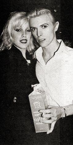 Cyrinda Foxe and David Bowie, New York, Penn Plaza Club, 26 March David Bowie, Angie Bowie, David Jones, The Thin White Duke, Major Tom, San Fernando, Ziggy Stardust, Lady Stardust, Glam Rock