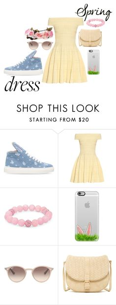 """""""bunny hop"""" by haylee-borthwick ❤ liked on Polyvore featuring Minna Parikka, Alexander McQueen, Palm Beach Jewelry, Casetify, Ray-Ban and Deux Lux"""