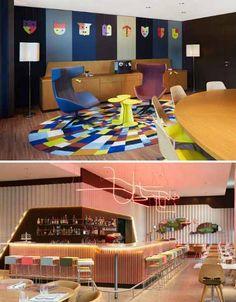 25Hours Hotel in Zurich, Switzerland via Dornob