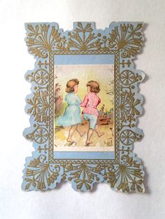 antique Victorian Valentine's Day Card old by LisaLiYesterYears