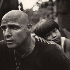 Remembering the great #MarlonBrando today in one of his classic's Apocalypse Now http://amzn.to/1LTerMO