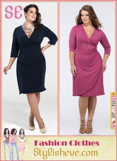 a19bde4bd4 Plus Size Casual and Cocktail Dresses For Curvy Women