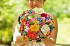 picture crochet bouquet