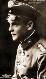 German WWI fighter ace, Josef Carl Peter Jacobs was born 15/5 1894.